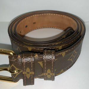 Louis Vuitton Men's Monogram Belt